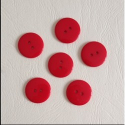 Boutons simples rouge